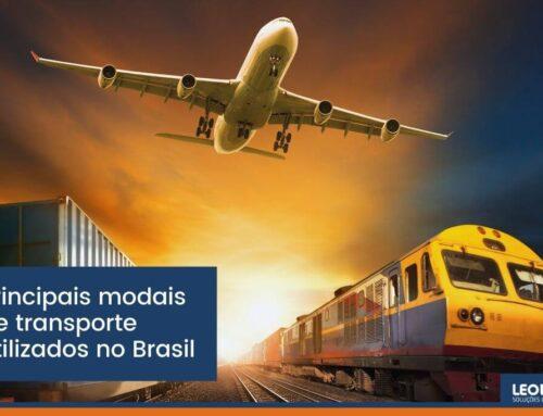 Principais modais de transporte utilizados no Brasil